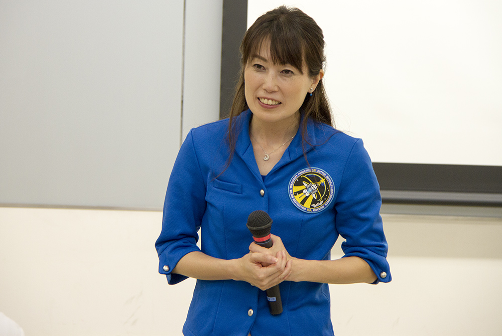 講演会 宇宙飛行士 山崎 直子 氏